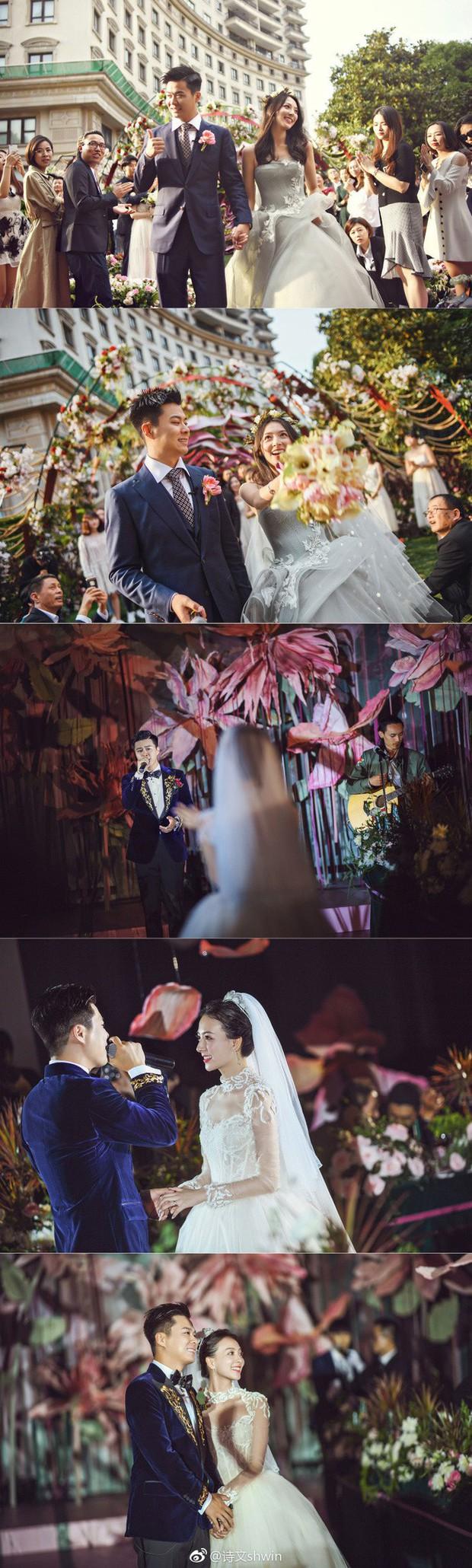 Những đám cưới cổ tích của dàn hot girl vạn người mê từng nổi đình nổi đám khắp Trung Quốc - Ảnh 7.