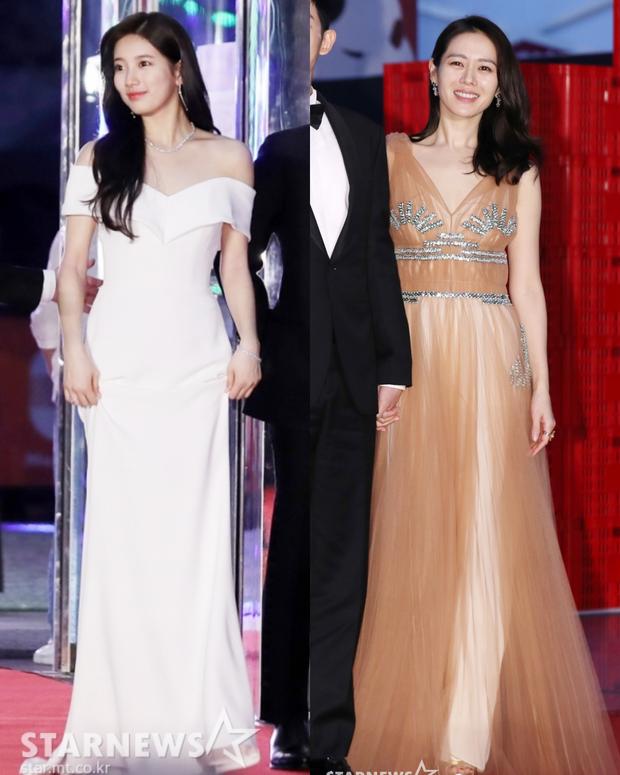 Suzy, Son Ye Jin vẫn là tâm điểm của thảm đỏ Baeksang cho đến khi Seolhyun diện đầm 400 triệu như bà hoàng - Ảnh 1.