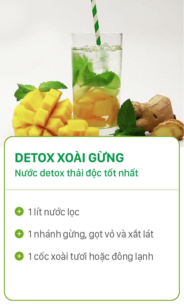 8 công thức detox đơn giản vừa đẹp da vừa chống lão hóa cực hiệu quả - Ảnh 11.