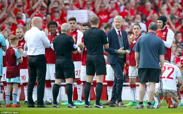 Ngày Wenger chia tay Emirates, Arsenal đại thắng 5-0 - Ảnh 4.