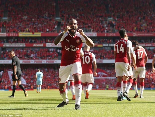 Ngày Wenger chia tay Emirates, Arsenal đại thắng 5-0 - Ảnh 7.