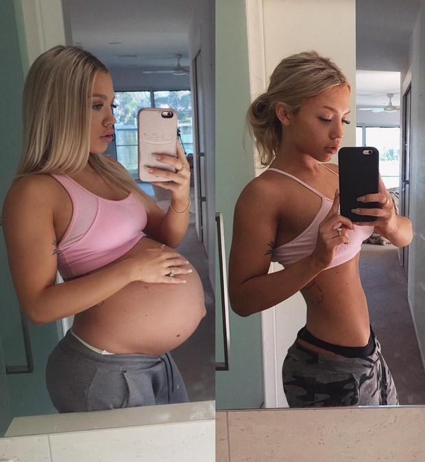 Nếu vẫn loay hoay tìm cách giảm cân sau sinh, hãy lắng nghe lời khuyên từ những hot mom xinh đẹp này - Ảnh 8.