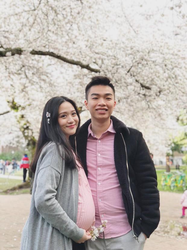 Thảo Hương - hot girl đẹp không son phấn một thời - khoe bụng bầu trên MXH - Ảnh 2.