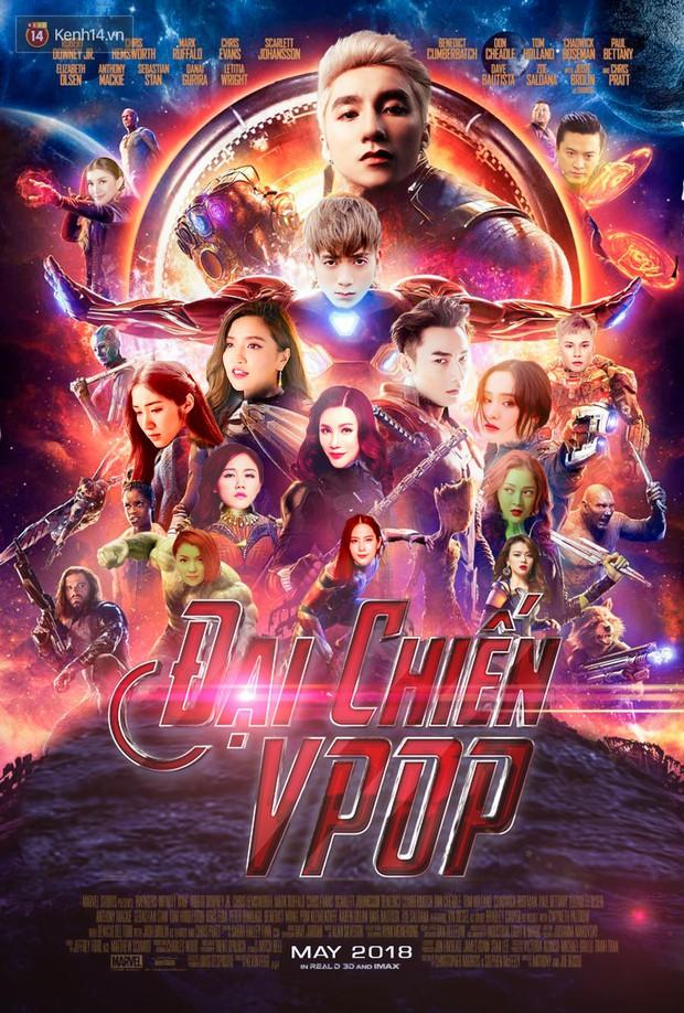 Đại chiến Vpop tháng 5 không khác Avengers: Infinity War, vậy còn ai hợp vai Thanos hơn Sơn Tùng M-TP? - Ảnh 2.