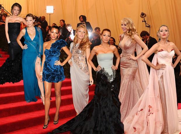 Blake Lively diện váy cồng kềnh đến mức phải thuê riêng xe bus để đi tới Met Gala 2018 - Ảnh 6.