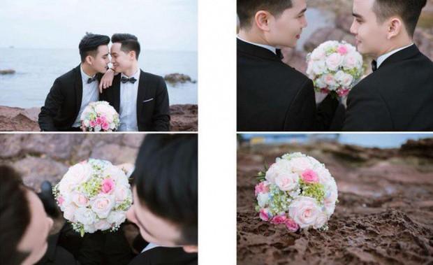 Xôn xao đám cưới đồng tính đầu tiên ở Hải Phòng với cặp nam chính được xếp vào hàng cực phẩm - Ảnh 5.