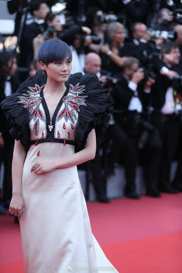 Cannes 2018: Phạm Băng Băng gây thất vọng vì nhuộm xanh thảm đỏ, hở ngực - gây sốc vẫn được tận dụng triệt để - Ảnh 18.