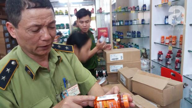 Hà Nội: Đột nhập kho hàng mỹ phẩm không chứng từ, phát hiện 5000 sản phẩm thực phẩm chức năng hết hạn - Ảnh 15.