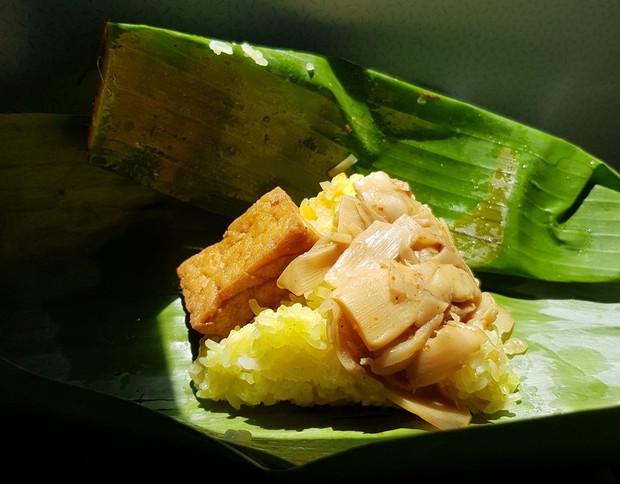 Xôi măng - món ăn kỳ lạ ở Kon Tum không phải ai cũng có cơ hội được thử - Ảnh 1.