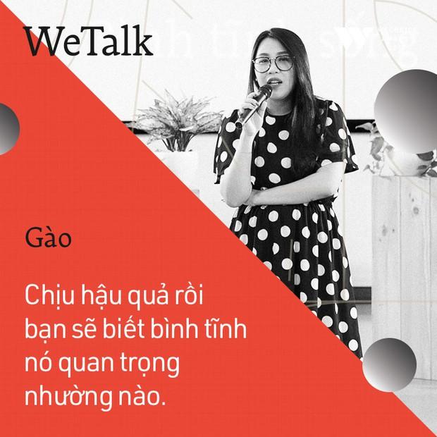 Bình tĩnh sống - Buổi trò chuyện tràn đầy cảm hứng của WeTalk 2017! - Ảnh 17.