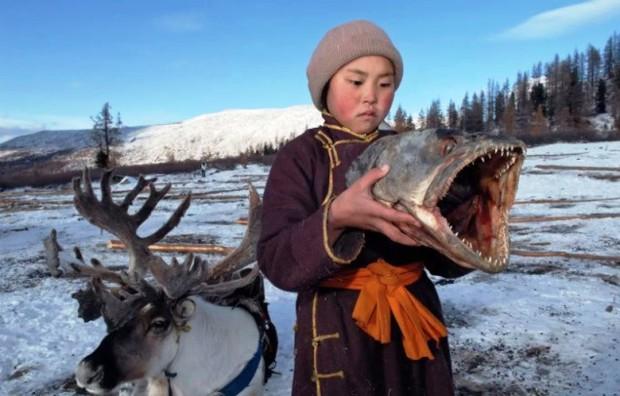 Cuộc sống của tộc người nuôi tuần lộc ở Mông Cổ - Ảnh 11.