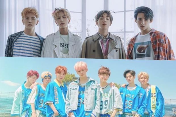 Black Pink, Wanna One và BTOB dẫn đầu đoàn đua Kpop tháng 6 - Ảnh 5.