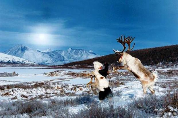 Cuộc sống của tộc người nuôi tuần lộc ở Mông Cổ - Ảnh 6.
