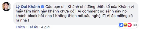 Bị nghi đăng ảnh Hà Hồ để đá xéo Minh Hằng, NTK Lý Quí Khánh nói gì? - Ảnh 3.