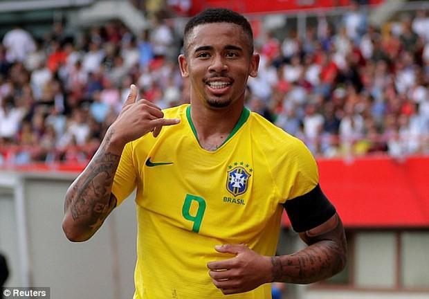 Neymar độc diễn ghi bàn, Brazil thắng đậm trước thềm World Cup 2018 - Ảnh 3.