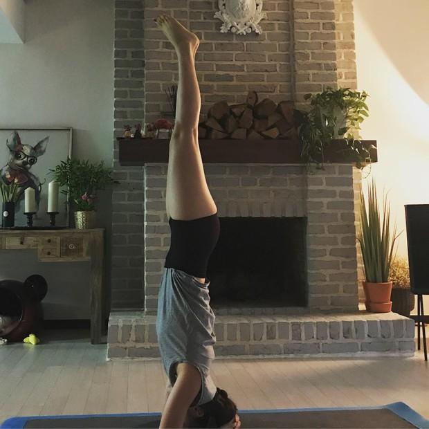 Vì sao một loạt người nổi tiếng như Lee Hyori, Goo Hara, Tăng Thanh Hà, Hồ Ngọc Hà đều tập tư thế yoga này? - Ảnh 2.