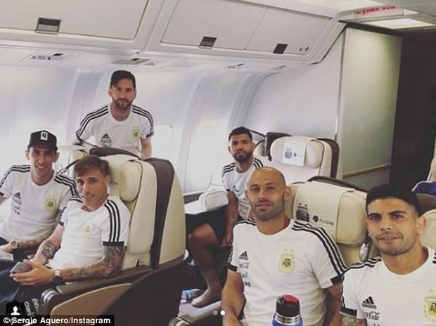 Sau Ronaldo, Messi và đồng đội cũng đã đặt chân tới Nga - Ảnh 5.