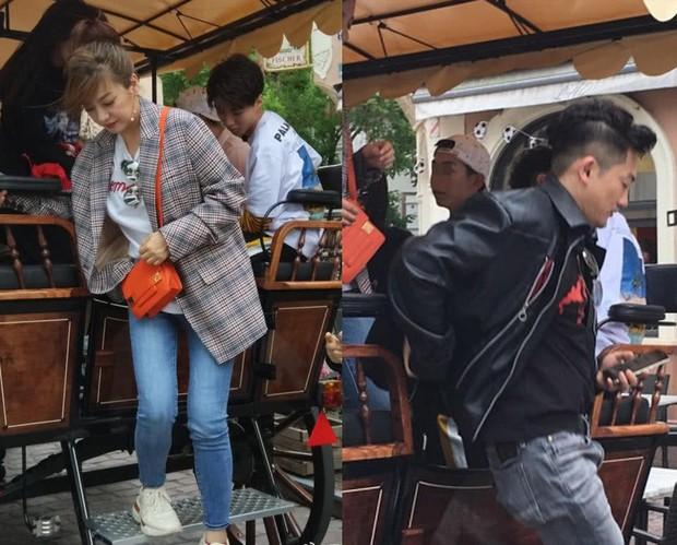 Tiểu Yến Tử Triệu Vy khiến fan nức nở với loạt ảnh thân thiết bên Ngũ A Ca Tô Hữu Bằng - Ảnh 5.