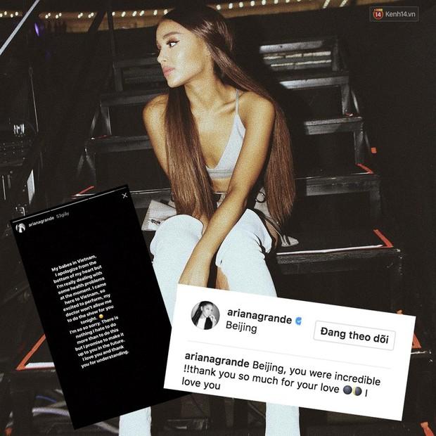 Học tập Ariana Grande, Demi Lovato huỷ show chỉ 45 phút trước giờ diễn - Ảnh 1.