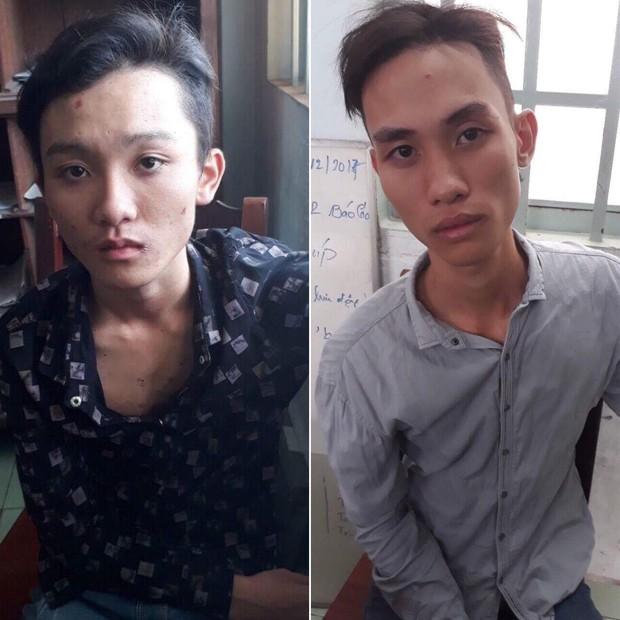 Hai thanh niên thuê khách sạn, mượn xe bạn gái cướp giật tài sản ở Sài Gòn - Ảnh 1.