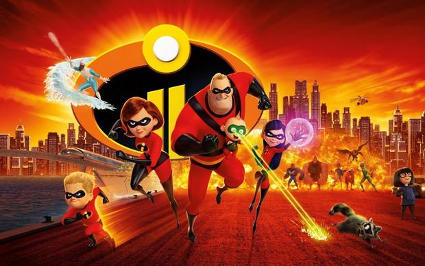 """Gia đình siêu nhân tái xuất mãn nhãn, thú vị và đậm tính giải trí trong """"Incredibles 2"""" - Ảnh 1."""
