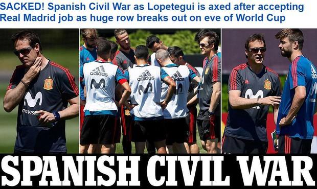 Nội chiến giữa cầu thủ Barca và Real khiến HLV Tây Ban Nha bị sa thải? - Ảnh 1.