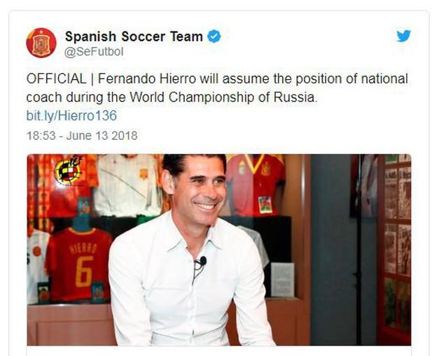 Fernando Hierro, huyền thoại Real Madrid được bổ nhiệm làm HLV Tây Ban Nha - Ảnh 2.
