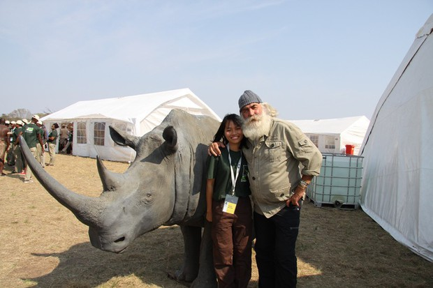 Cô gái tê giác Nguyễn Thị Thu Trang: Bảo tồn động vật hoang dã cũng chính là trực tiếp bảo vệ đồng loại của mình - Ảnh 9.