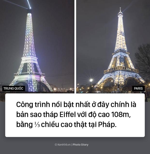 """Tháp Eiffel """"made in China"""" cứu sống thị trấn ma ở Trung Quốc - Ảnh 11."""