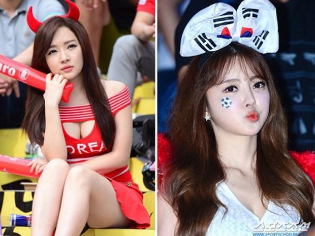 Hàn Quốc và những quốc gia có fan nữ nóng bỏng và cuồng nhiệt nhất World Cup - Ảnh 6.