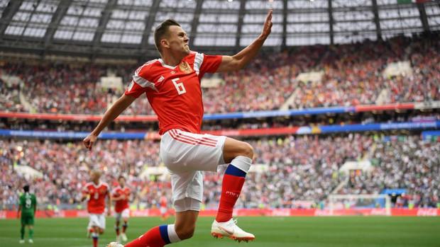 Trai đẹp Golovin tỏa sáng, giúp Nga thắng đậm trận khai màn World Cup 2018 - Ảnh 6.