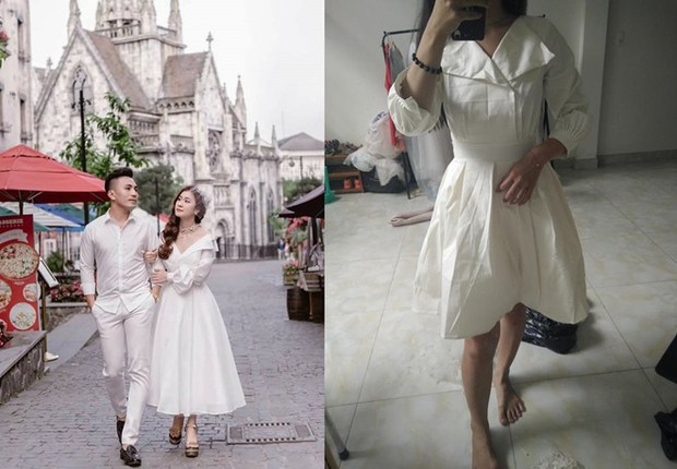 Đặt mua váy công chúa qua mạng, cô gái nhận được thứ giống y tạp dề của Lọ Lem lúc chưa gặp bà tiên... - Ảnh 1.