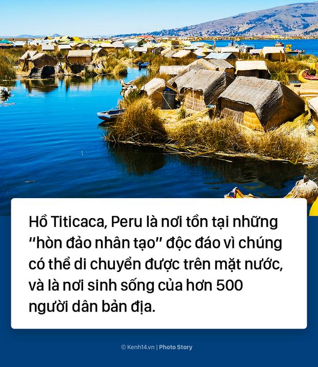 Hòn đảo nhân tạo biết di chuyển tại Peru - Ảnh 1.