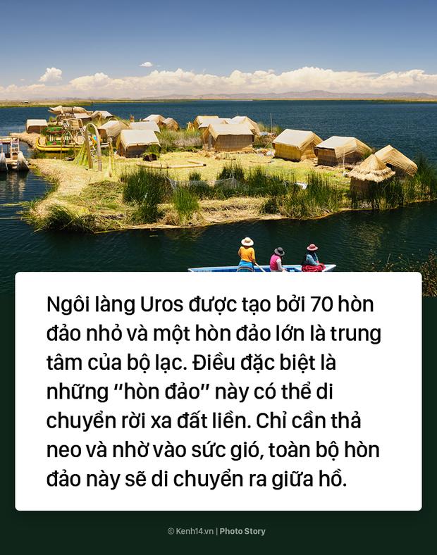 Hòn đảo nhân tạo biết di chuyển tại Peru - Ảnh 9.
