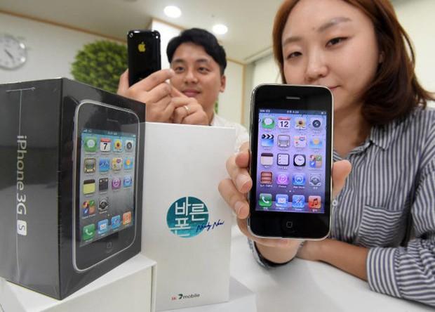 iPhone 3GS bất ngờ hồi sinh ở Hàn Quốc, giá rẻ bèo chỉ chưa đầy 1 triệu đồng - Ảnh 1.