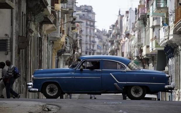 Ảnh: Vẻ đẹp hớp hồn của các xe ô tô cổ trên các góc phố nẻo đường Cuba - Ảnh 15.
