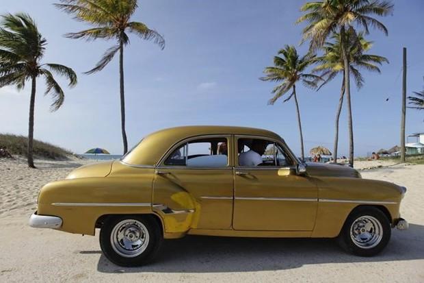 Ảnh: Vẻ đẹp hớp hồn của các xe ô tô cổ trên các góc phố nẻo đường Cuba - Ảnh 16.