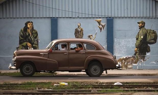 Ảnh: Vẻ đẹp hớp hồn của các xe ô tô cổ trên các góc phố nẻo đường Cuba - Ảnh 5.