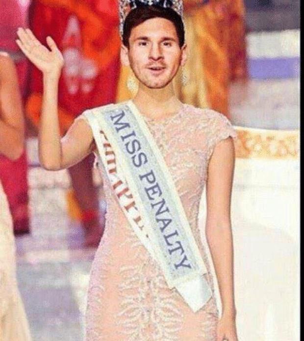 Từ nay, hãy gọi Messi là Miss Penalty - Ảnh 1.