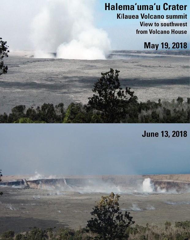 Dùng drone quan sát núi lửa vừa tàn phá Hawaii, chuyên gia phát hiện ra miệng núi vẫn đang mở rộng mỗi ngày - Ảnh 5.
