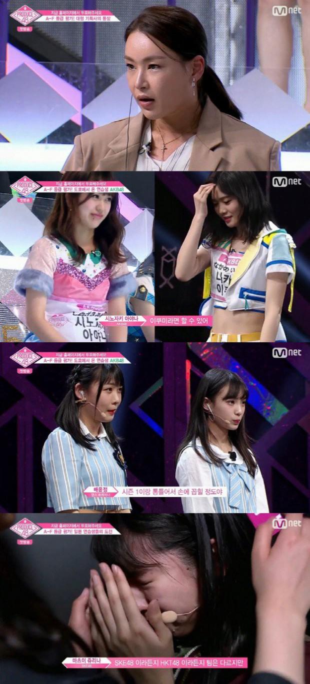 Tập 1 Produce 48: Nhiều thí sinh Nhật Bản bật khóc vì áp lực của cuộc thi - Ảnh 5.