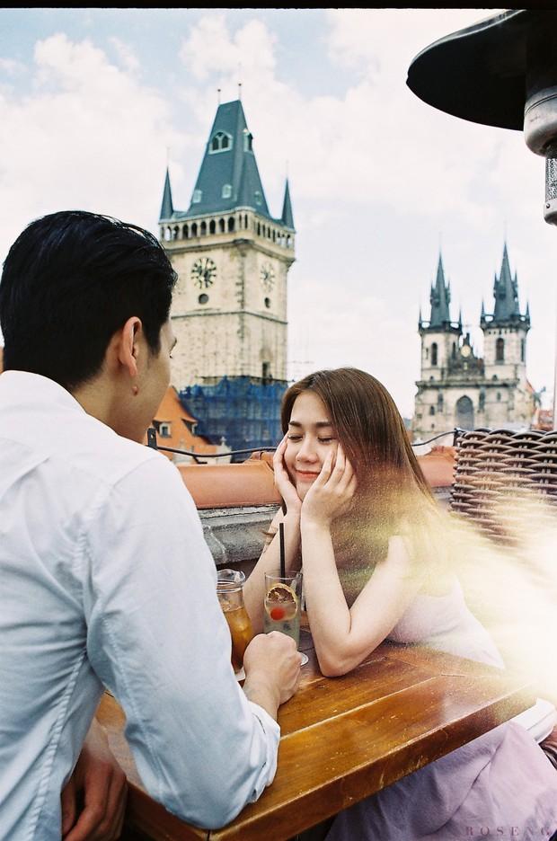 Ảnh phim tình bể bình của Ngọc Thảo và bạn trai ở châu Âu - Ảnh 3.