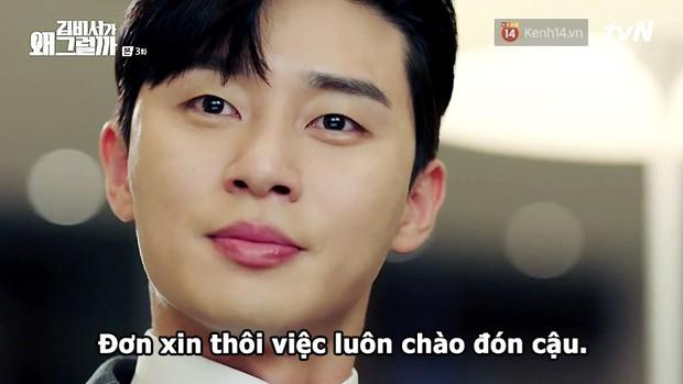Đỡ không nổi 15 phát ngôn chấn động nhất của thánh tự luyến Park Seo Joon trong Thư Ký Kim - Ảnh 31.