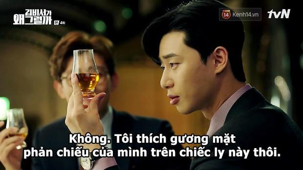Đỡ không nổi 15 phát ngôn chấn động nhất của thánh tự luyến Park Seo Joon trong Thư Ký Kim - Ảnh 6.
