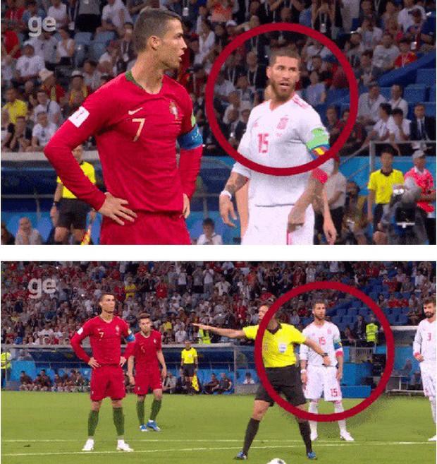 Ramos khiến De Gea thất bại trên chấm 11m trước Ronaldo - Ảnh 2.