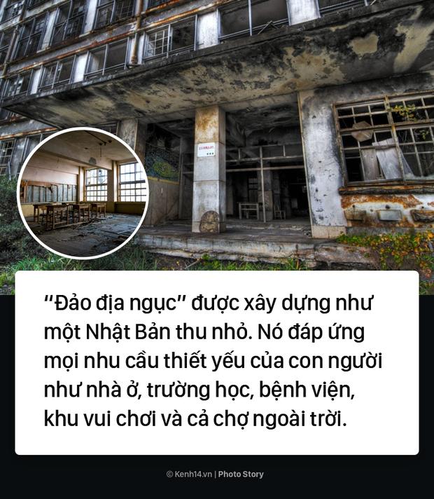 Cận cảnh tình trạng đổ nát của Đảo địa ngục ngoài đời thực sau hàng chục năm bị bỏ hoang - Ảnh 11.