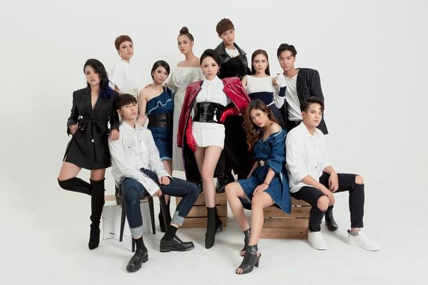 Tóc Tiên tung bộ ảnh giới thiệu 10 học trò cá tính của team Giọng hát Việt 2018 - Ảnh 1.
