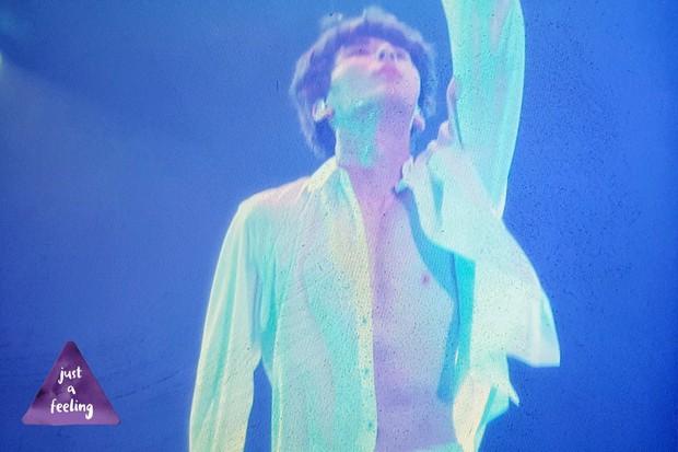 Khô máu với màn khoe múi bụng như tượng thần điêu khắc của mỹ nam ngoan hiền nhóm Wanna One - Ảnh 6.