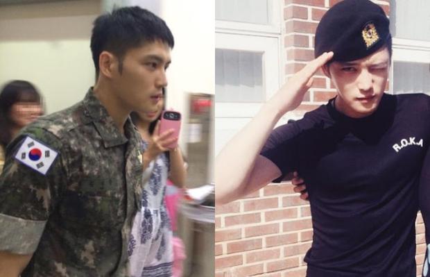 Dàn mỹ nam xứ Hàn khi vào quân ngũ: Người đẹp xuất sắc như đóng phim, kẻ xập xệ đến mức khó nhận ra - Ảnh 15.