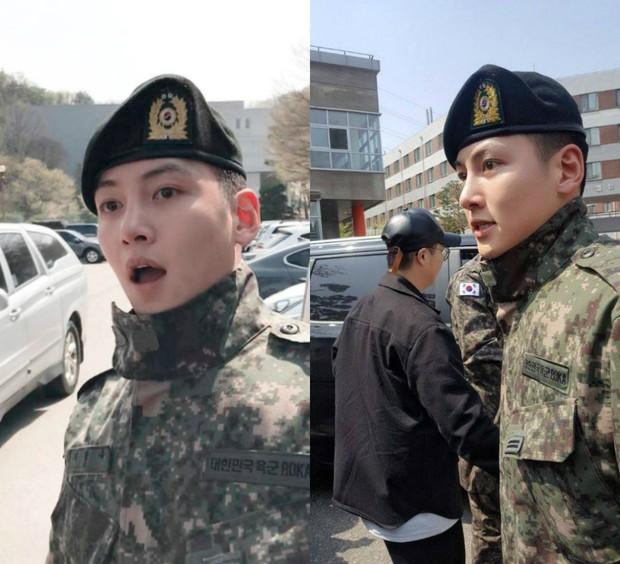 Dàn mỹ nam xứ Hàn khi vào quân ngũ: Người đẹp xuất sắc như đóng phim, kẻ xập xệ đến mức khó nhận ra - Ảnh 3.